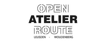 Logo open atelier route leusden woudenberg